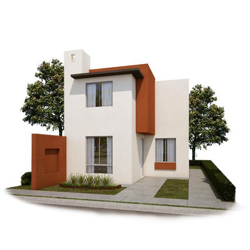 Fachada 1, casa en venta Modelo Coruña VII en Arcadia La Silla, Juárez, Nuevo León.