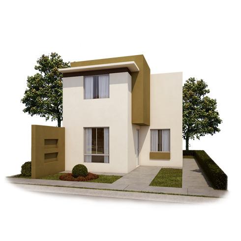 Fachada 2, casa en venta Modelo Coruña VII en Arcadia La Silla, Juárez, Nuevo León.
