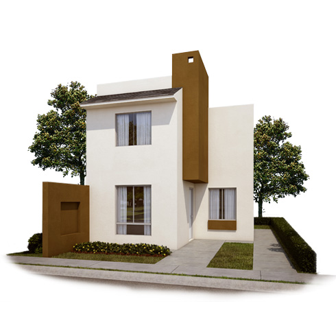 Fachada 3, casa en venta Modelo Coruña VII en Arcadia La Silla, Juárez, Nuevo León.