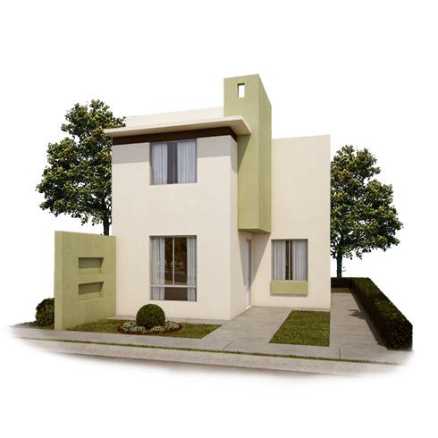 Fachada 4, casa en venta Modelo Coruña VII en Arcadia La Silla, Juárez, Nuevo León.