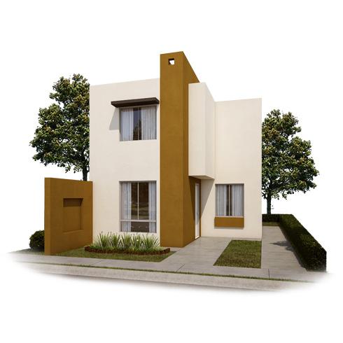Fachada 5, casa en venta Modelo Coruña VII en Arcadia La Silla, Juárez, Nuevo León.