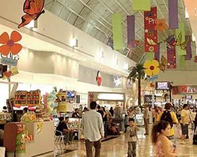 Interior Sun Mall Guadalupe