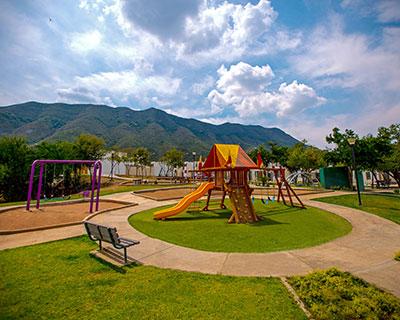Área de juegos infantiles de fraccionamiento Arcadia La Silla