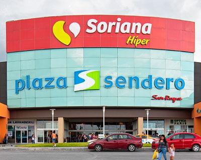 Plaza Sendero San Roque en Juárez Nuevo León